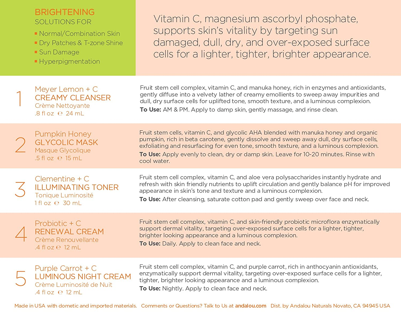 Brightening Pumpkin Honey Glycolic Mask by andalou naturals #5