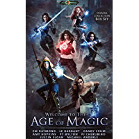 Welcome To The Age of Magic: Restriction, Storm Raiders, Shades of Light, The Arcadian Druid, Dawn of Destiny, Knight's Creed (English Edition)