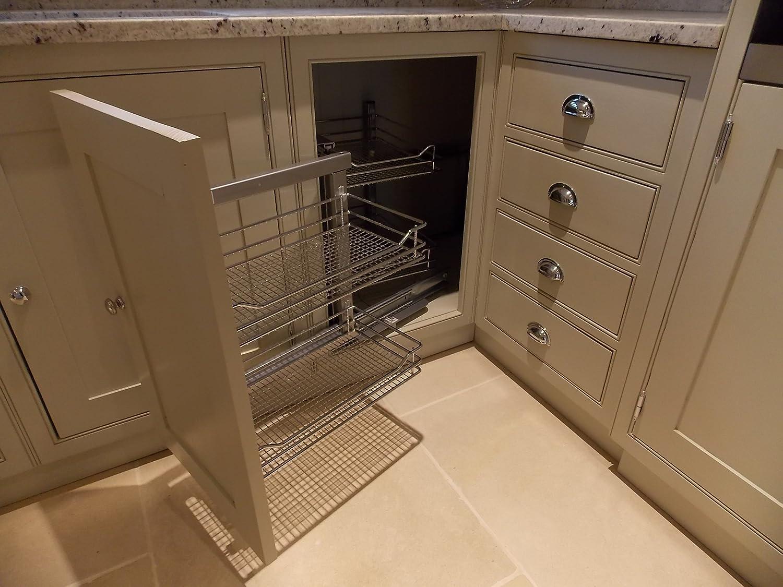 Amazon.de: Küche Einheiten Küche Unterschrank 900 mm Rollo Ecke mit ...