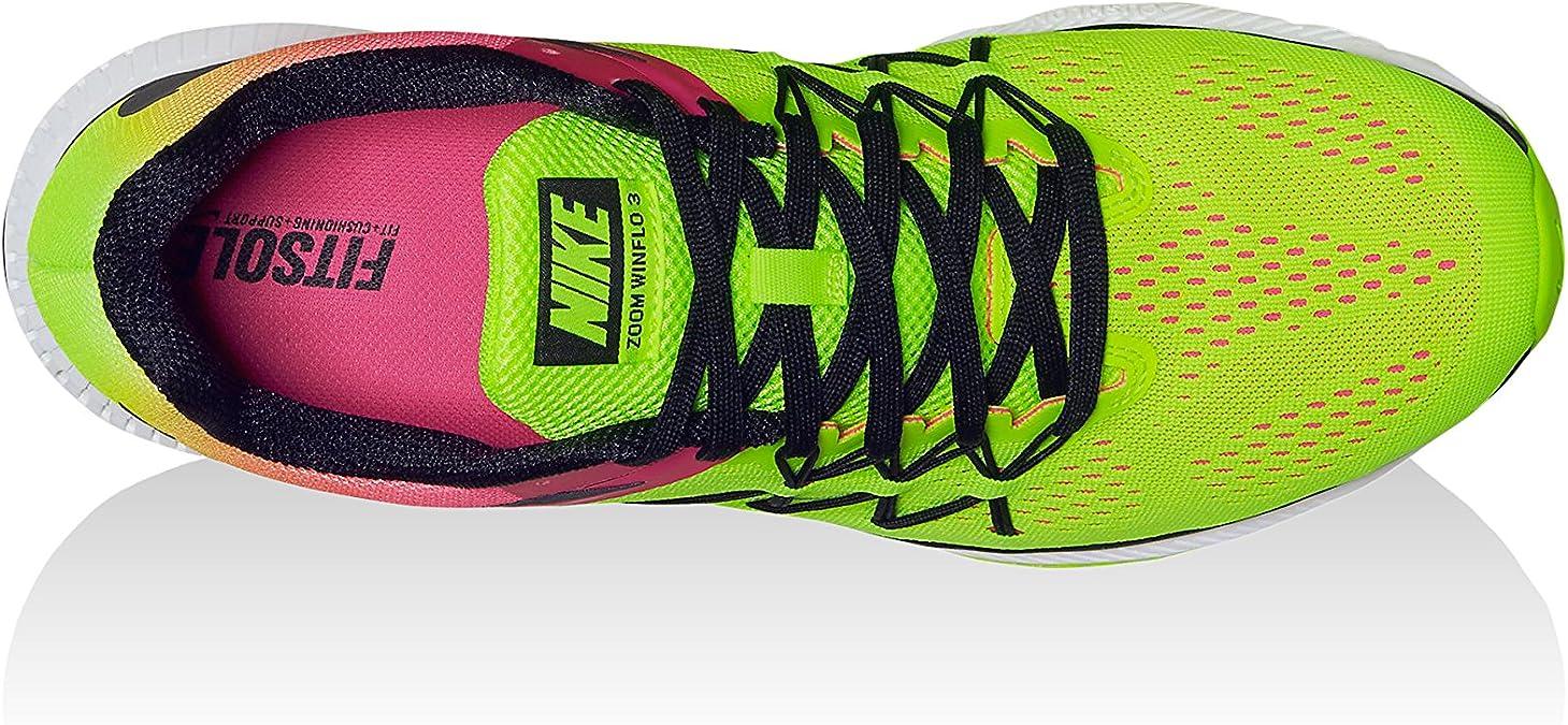 Nike Zoom Winflo 3 OC, Zapatillas de Running para Hombre, Negro (Multi-Color/Multi-Color), 47 EU: Amazon.es: Zapatos y complementos