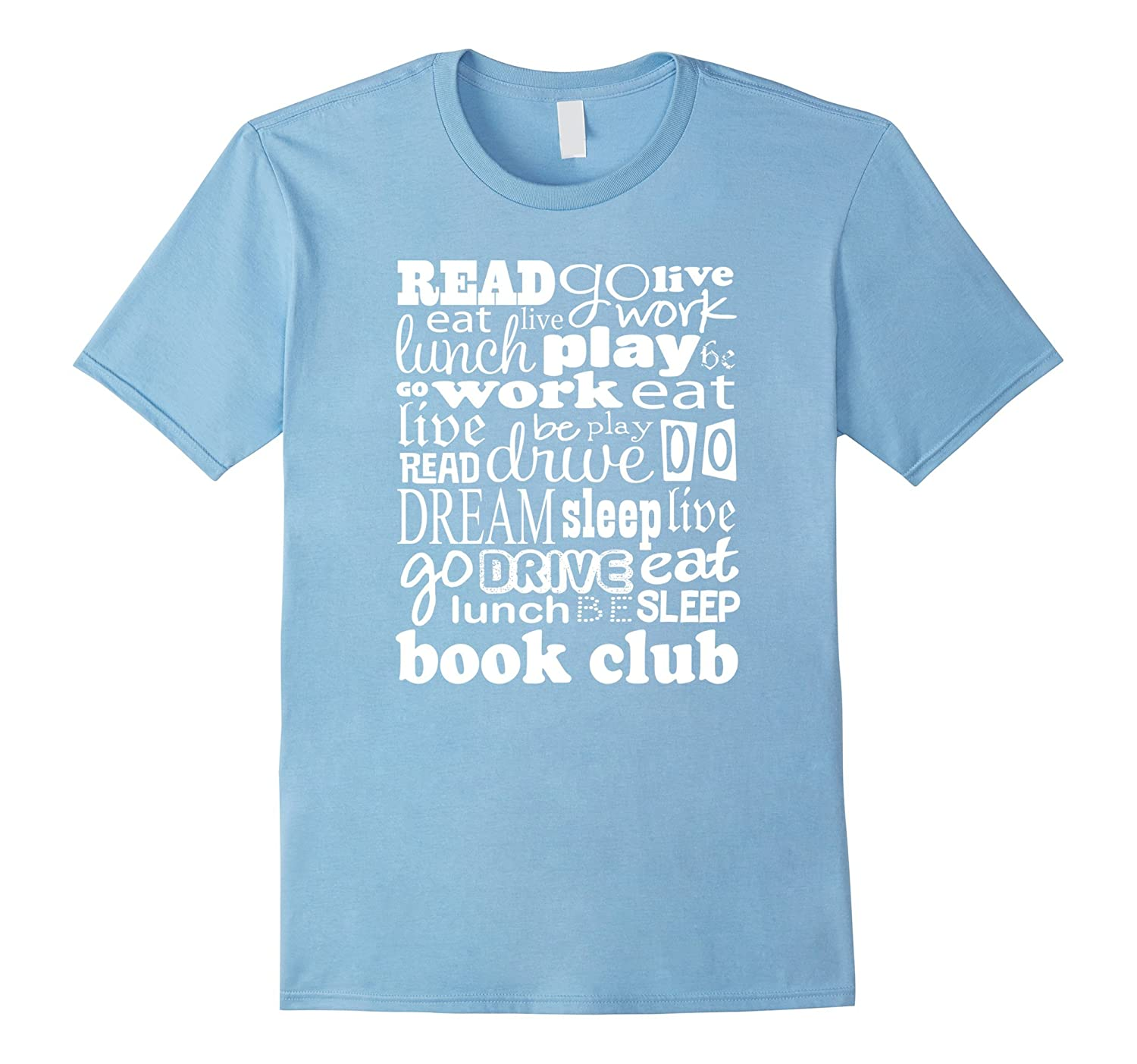 Book Club T-shirt Reading Group Gift Tee-CL