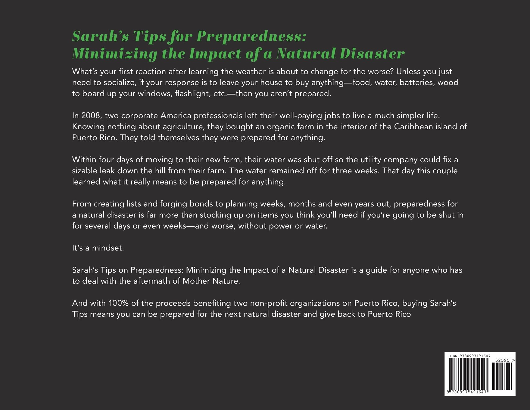 a9feaac2e06d Sarah s Tips for Preparedness  Minimizing the Impact of a Natural ...