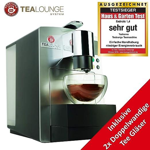 Cafetera de cápsulas Teekanne Pro Edition para té y café, máquina ...