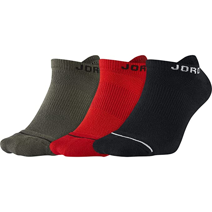 Jordan Dri-Fit, Calcetines Pack de 3 Pares