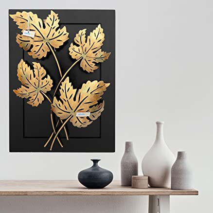 Buy Collectible India Home Decor-Iron Handmade Leaf Design Natural ...