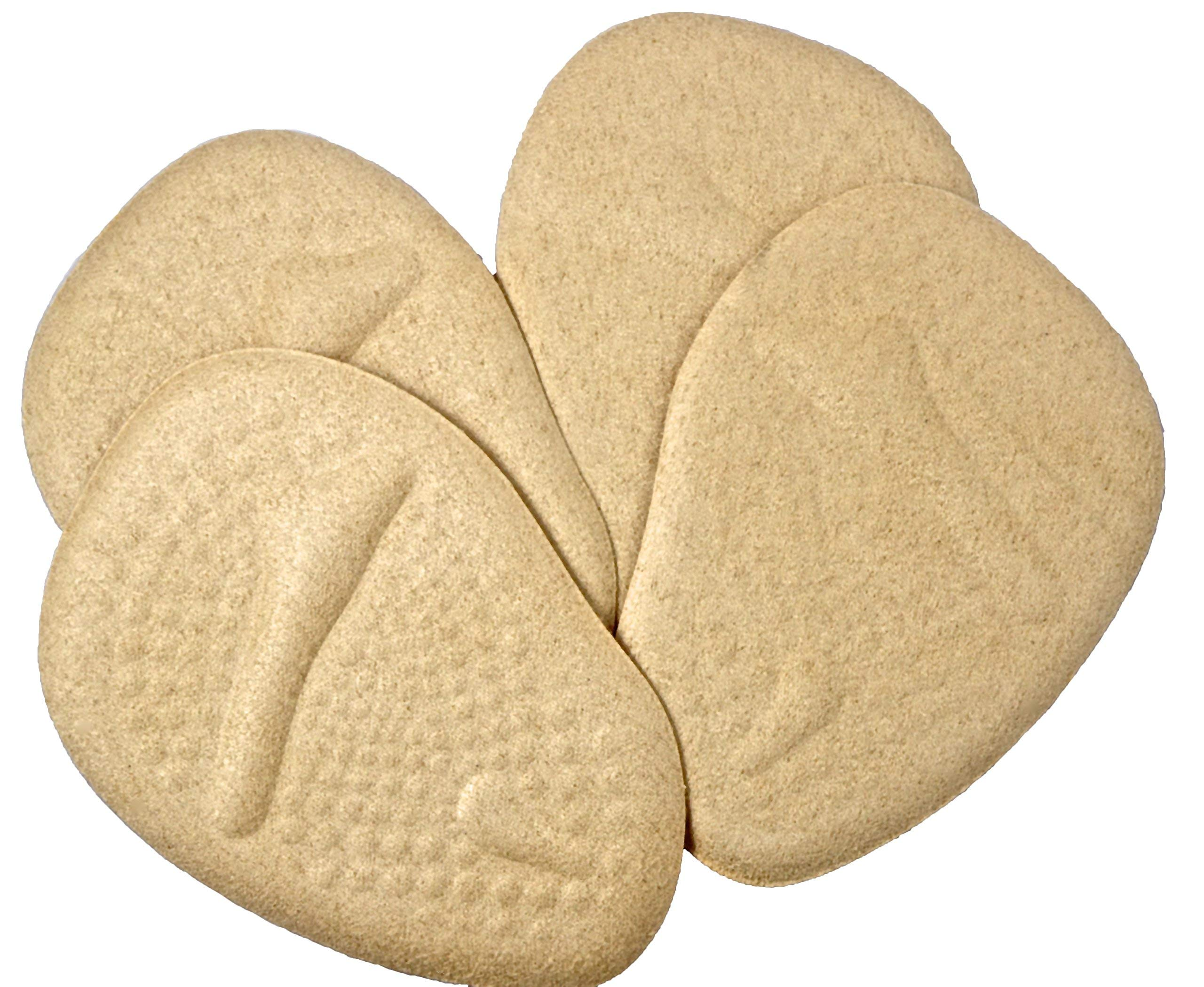 4 Ball of Foot Support Cushion Pad Good Soft Gel Pain Relief Forefoot Inserts High Heel Shoe Insole
