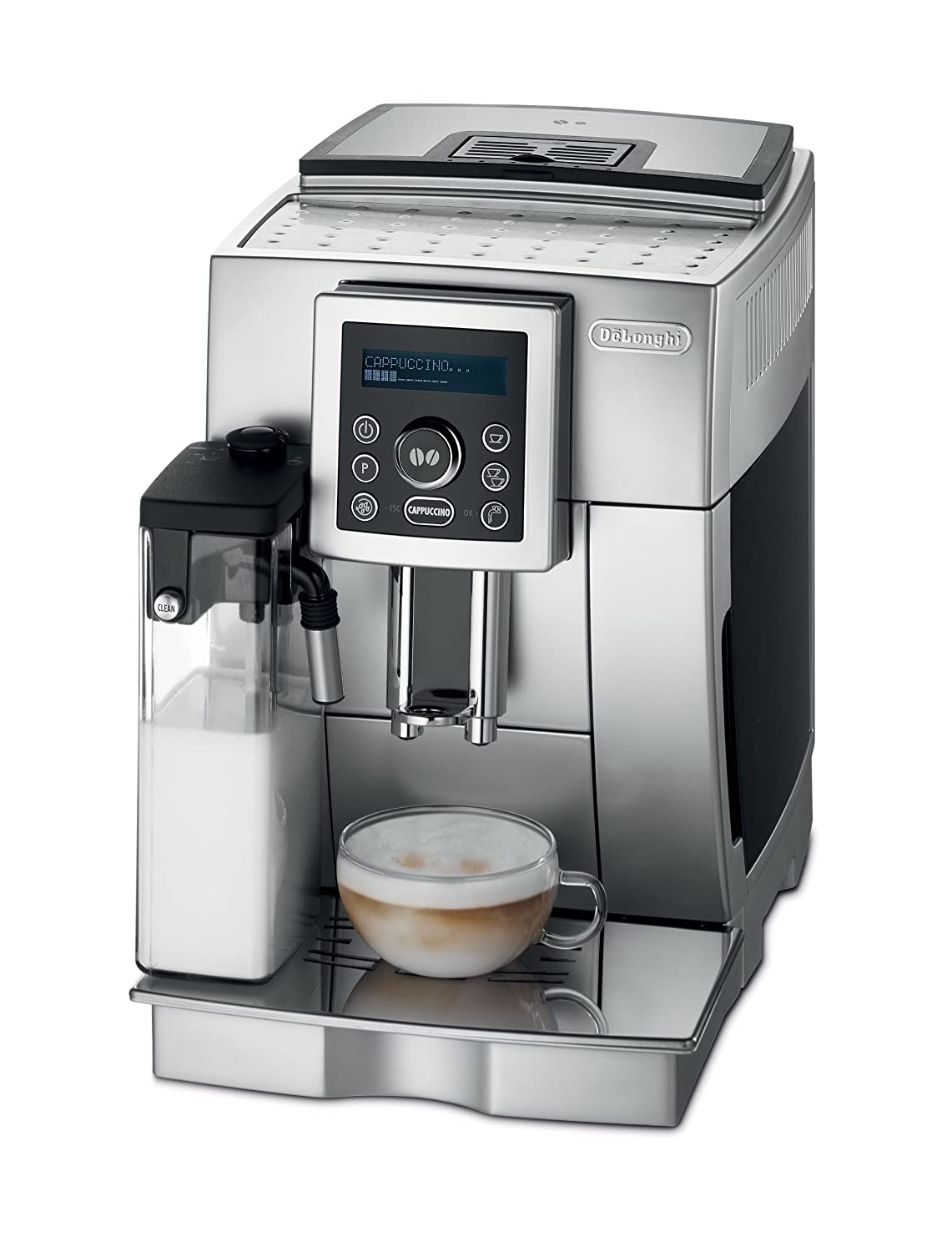 DeLonghi ECAM23450SL Superautomatic Espresso Machine, Silver by DeLonghi B003ZDNKU6