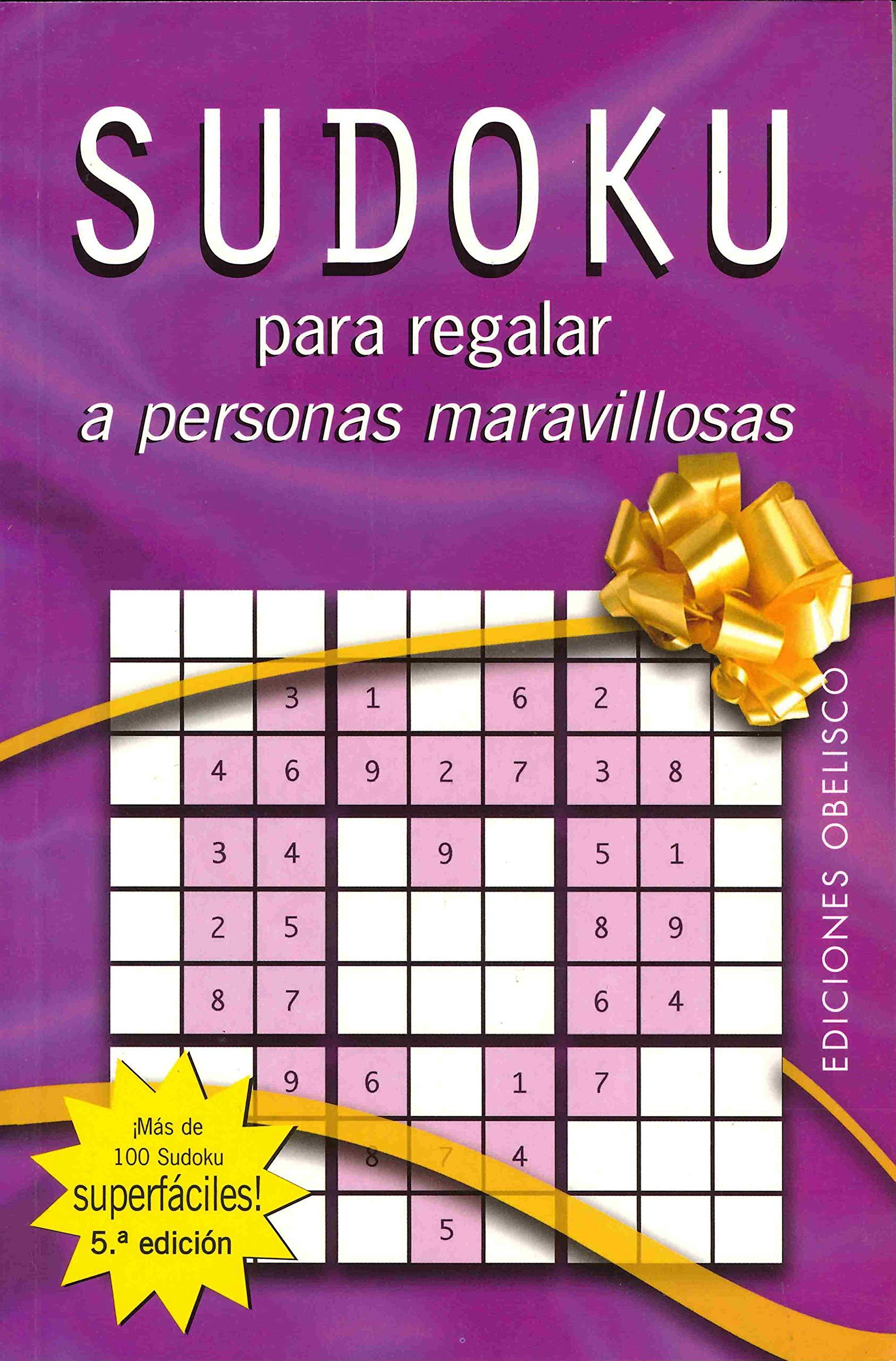 Sudoku para regalar a personas maravillosas LIBROS SINGULARES ...