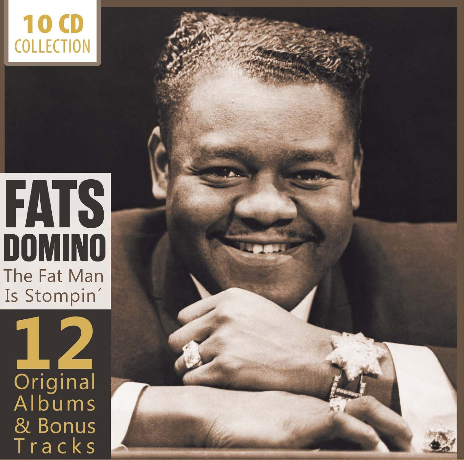 ファッツ・ドミノ / The FAT MAN IS STOMPIN' 12ORIGINAL ALBUMS & BONUS TRACKS
