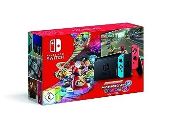Nintendo Switch Neon-Rot/Neon-Blau inkl Spiel