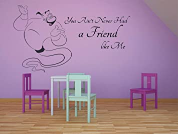 Princess Jasmine Aladdin Wall Decal Aladdin Wall Decor Etsy