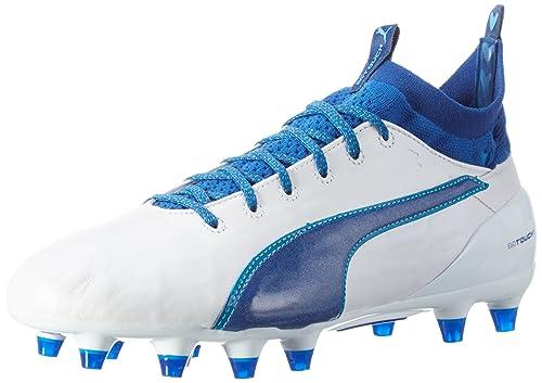 Puma Evotouch 2 Fg Scarpe da Calcio Uomo Bianco White True Blue Blue