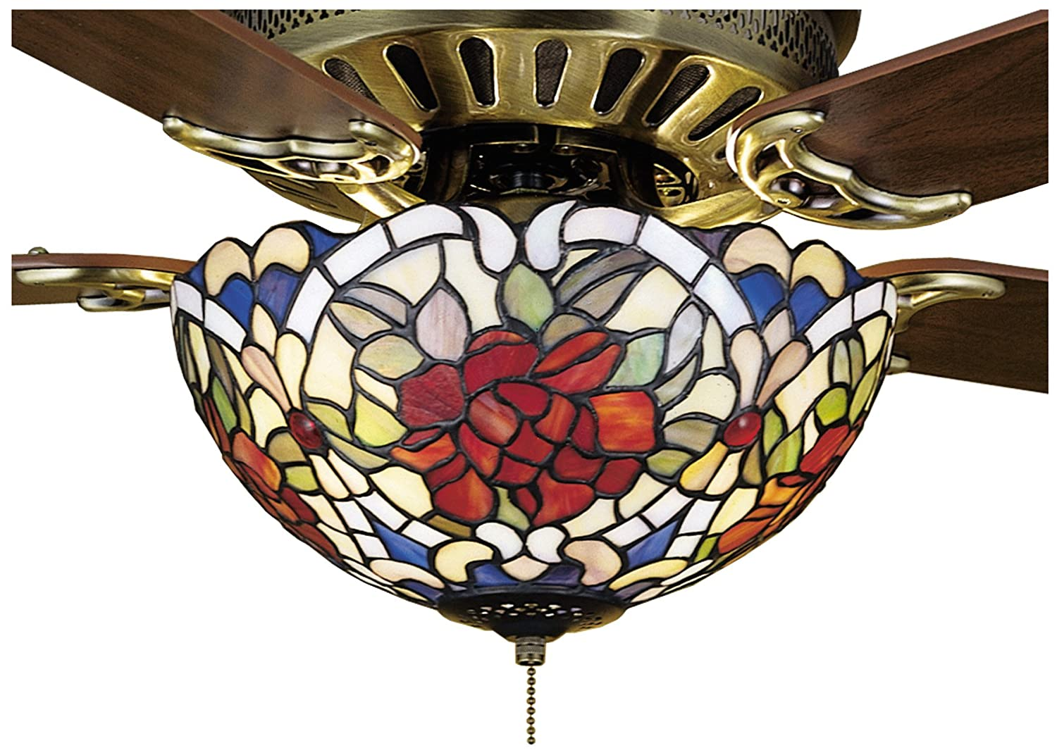 Tiffany renaissance 3 light ceiling fan light directional tiffany renaissance 3 light ceiling fan light directional spotlight ceiling fixtures amazon aloadofball Gallery
