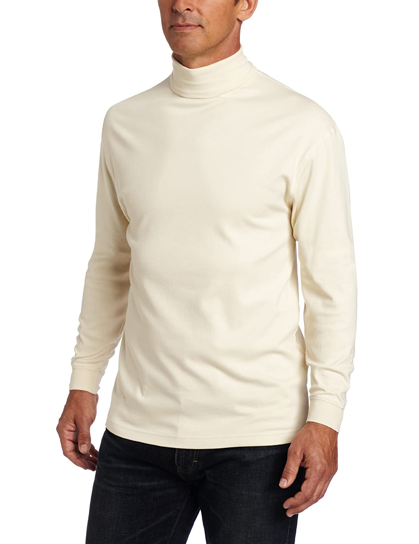 1960s – 70s Mens Shirts- Disco Shirts, Hippie Shirts Pendleton Mens Classic Fit Meadows Turtleneck $44.00 AT vintagedancer.com