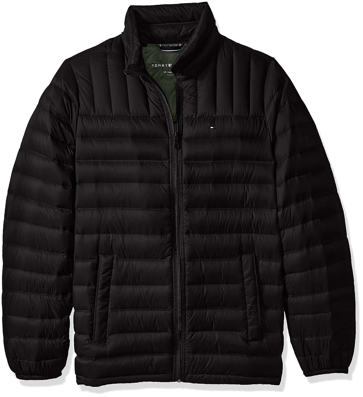 Tommy Hilfiger OUTERWEAR メンズ B01LR9CZ46  ブラック XL LONG TA