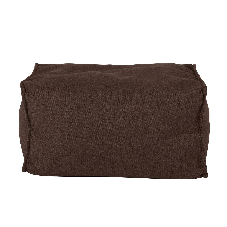 Lounge Pug/® Pouf Repose Pied Interalli Laine Marron
