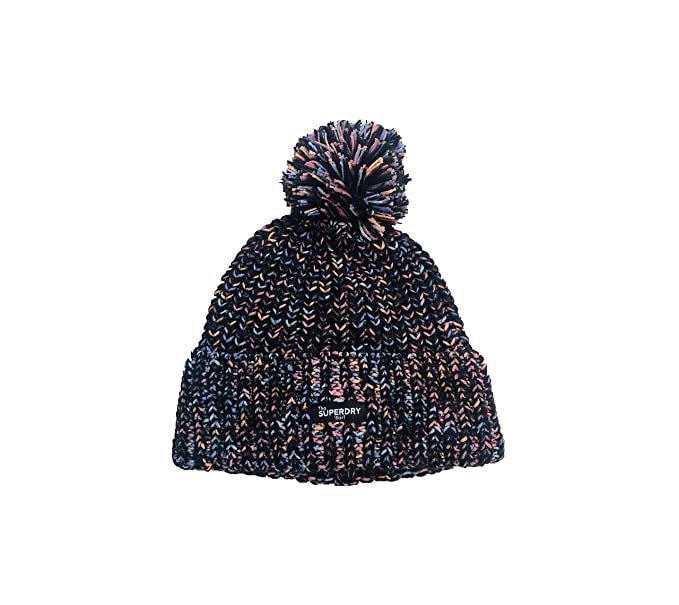 Superdry - Eliza Twisted Beanie - Gorro Punto - para Mujer: Amazon ...