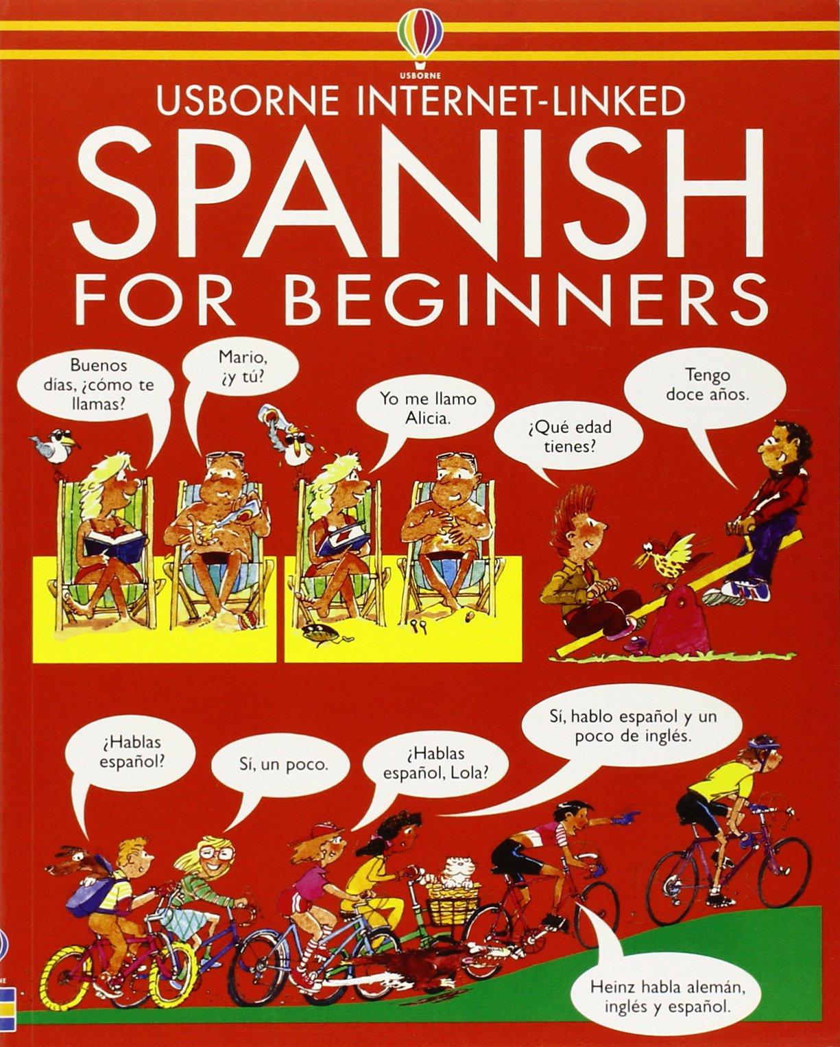 Spanish For Beginners Usborne Language Guides Amazon Co Uk
