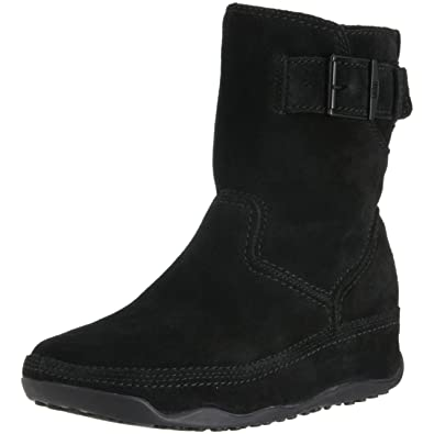 cb1a1acf856 FitFlop Super Boot Short Suede Black (UK7)  Amazon.co.uk  Shoes   Bags