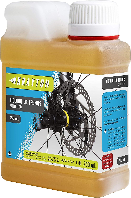 Krayton A00-LIQ060 Líquido de Frenos sintético, Adultos Unisex ...