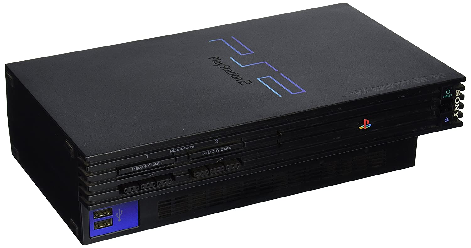 amazon com playstation 2 console black unknown video games