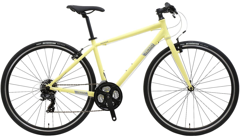 700×32C 480mm クロスバイク VACANZE1 バカンゼ1 外装21段 NE-18-005 B07DM2N99F イエロー イエロー