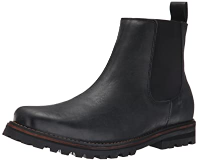 Dr. Scholl's Men's Ripley Chelsea Boot, Black Leather, ...