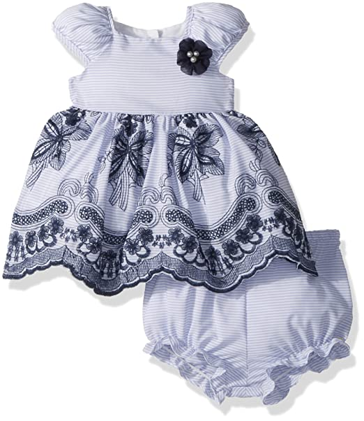 Amazon.com: laura ashley London bebé niñas Puff de la manga ...