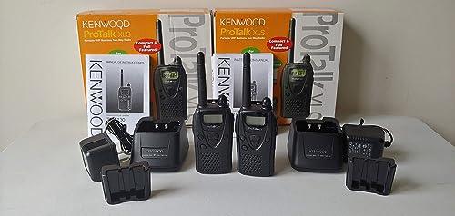 Kenwood TK-3130 4-Mile 2-Channel UHF Two-Way Radio