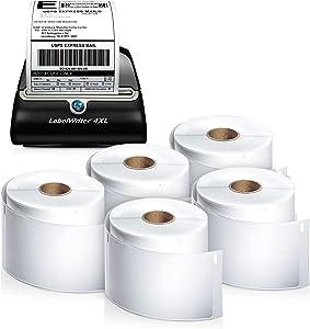 DYMO LabelWriter 4XL Thermal Label Printer (1755120) plus 5 bonus rolls
