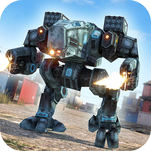 Robot Tanks of War - Free Robots Fighting Game]()