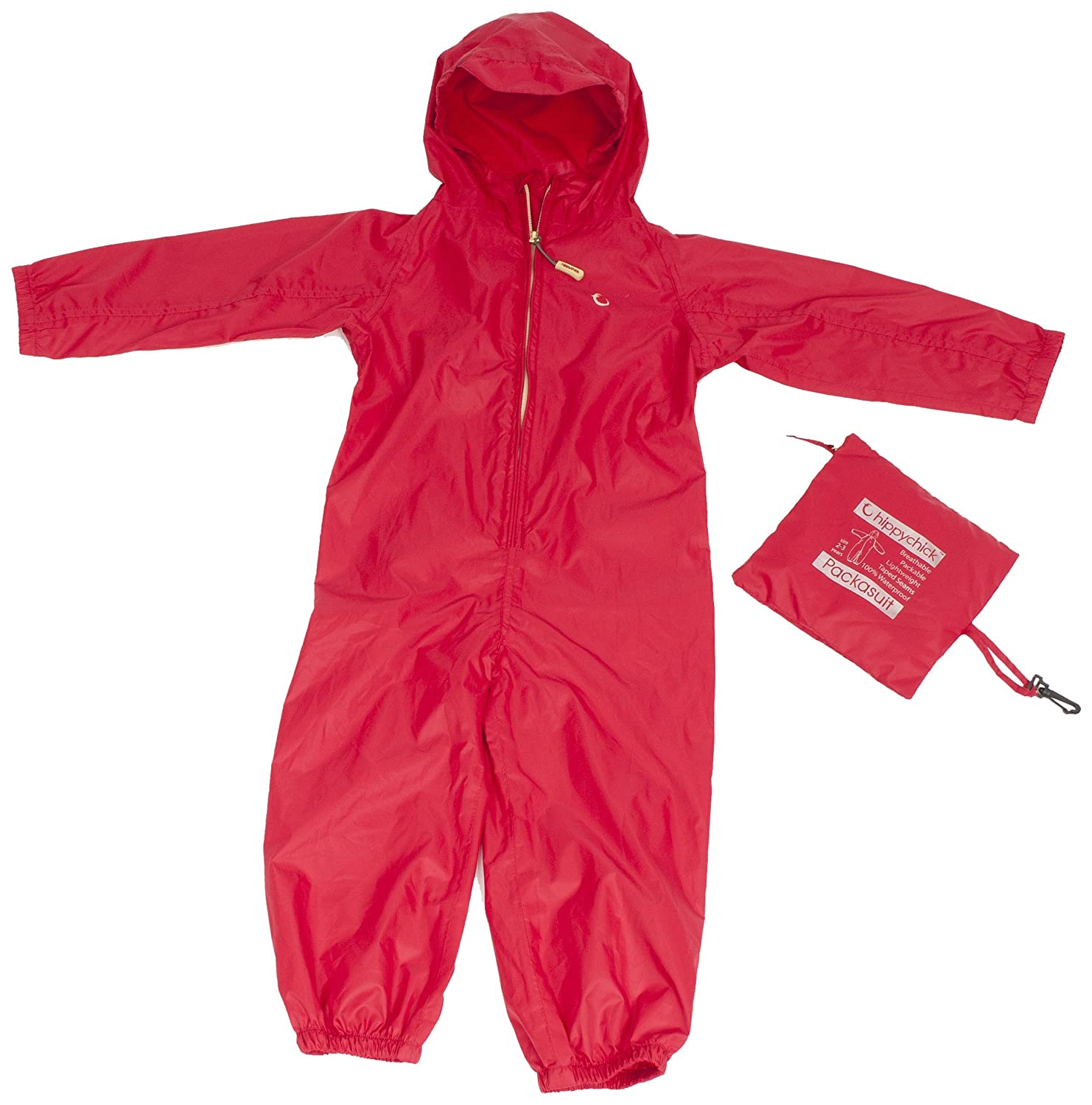 Hippychick Baby, Toddler & Child Waterproof 'Packasuit' All-in-One Snow/Rain Suit