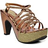 BEPS Stylish & Fashionable Synthetic Heel Sandal's For Women