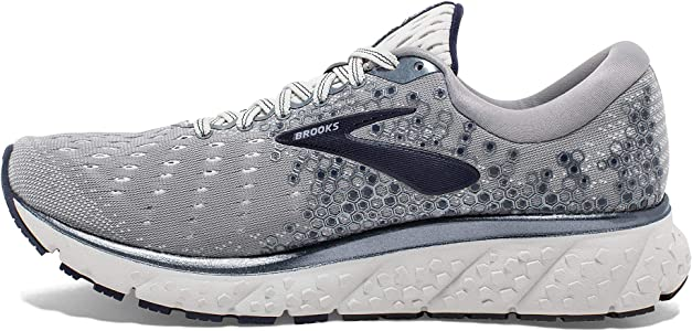Brooks - Modelo Glycerin 17 - Zapatillas para hombre, Multicolor (Gris/Navy/Blanco), 41 EU: Amazon.es: Zapatos y complementos