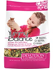 Devotion Love Without Limits Yummy Balance Hamster & Gerbil Blend 2kg, 1 Piece, Small