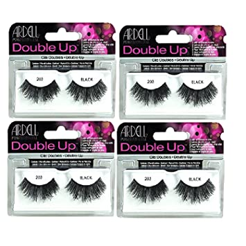 1ebc2006e18 Ardell Lashes Double Up 4 Pack 203 Black Ardell Lashes, Free ...