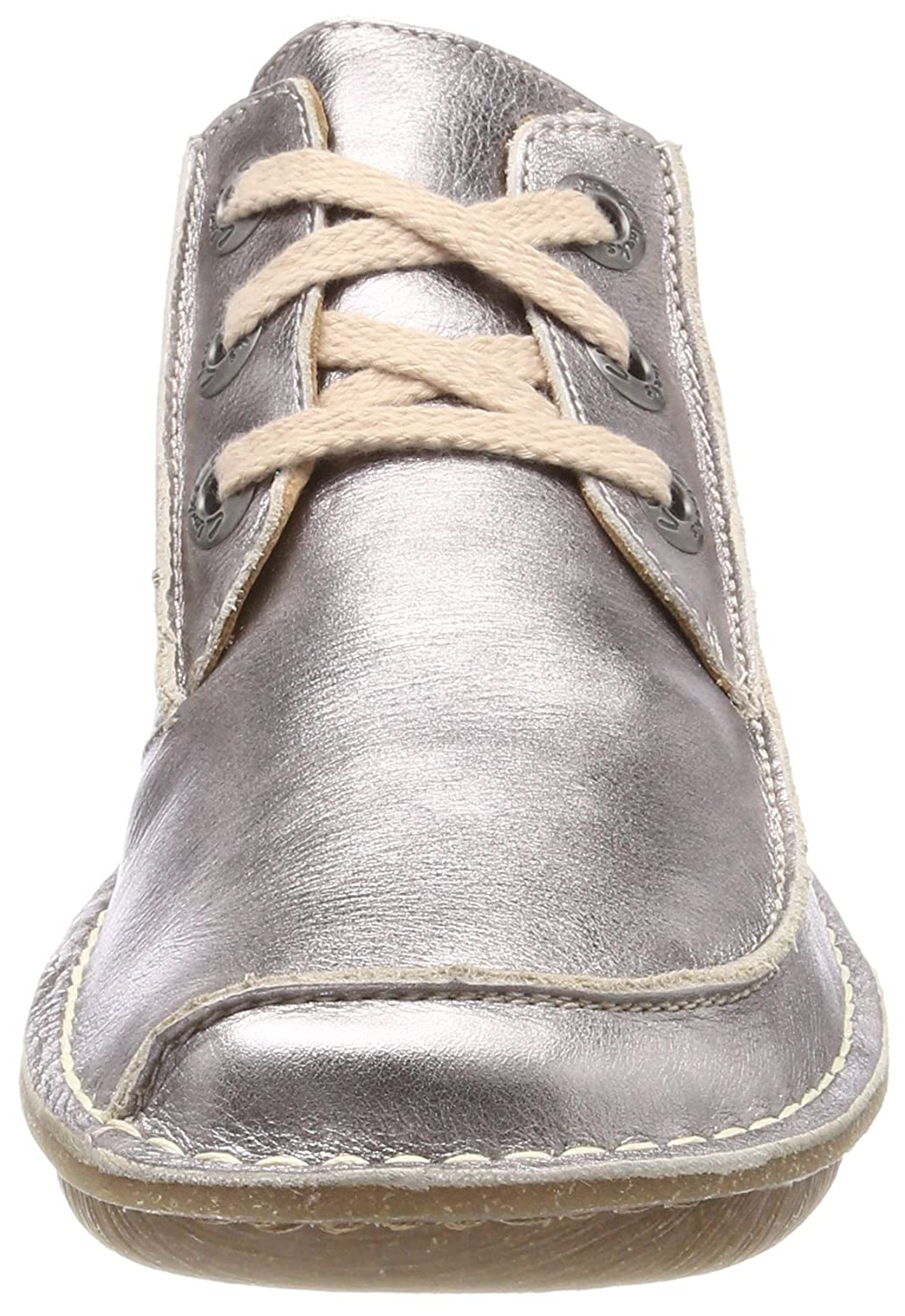 Clarks Damen Damen Damen Funny Dream Derby Beige (Pewter Metallic) 576bc5