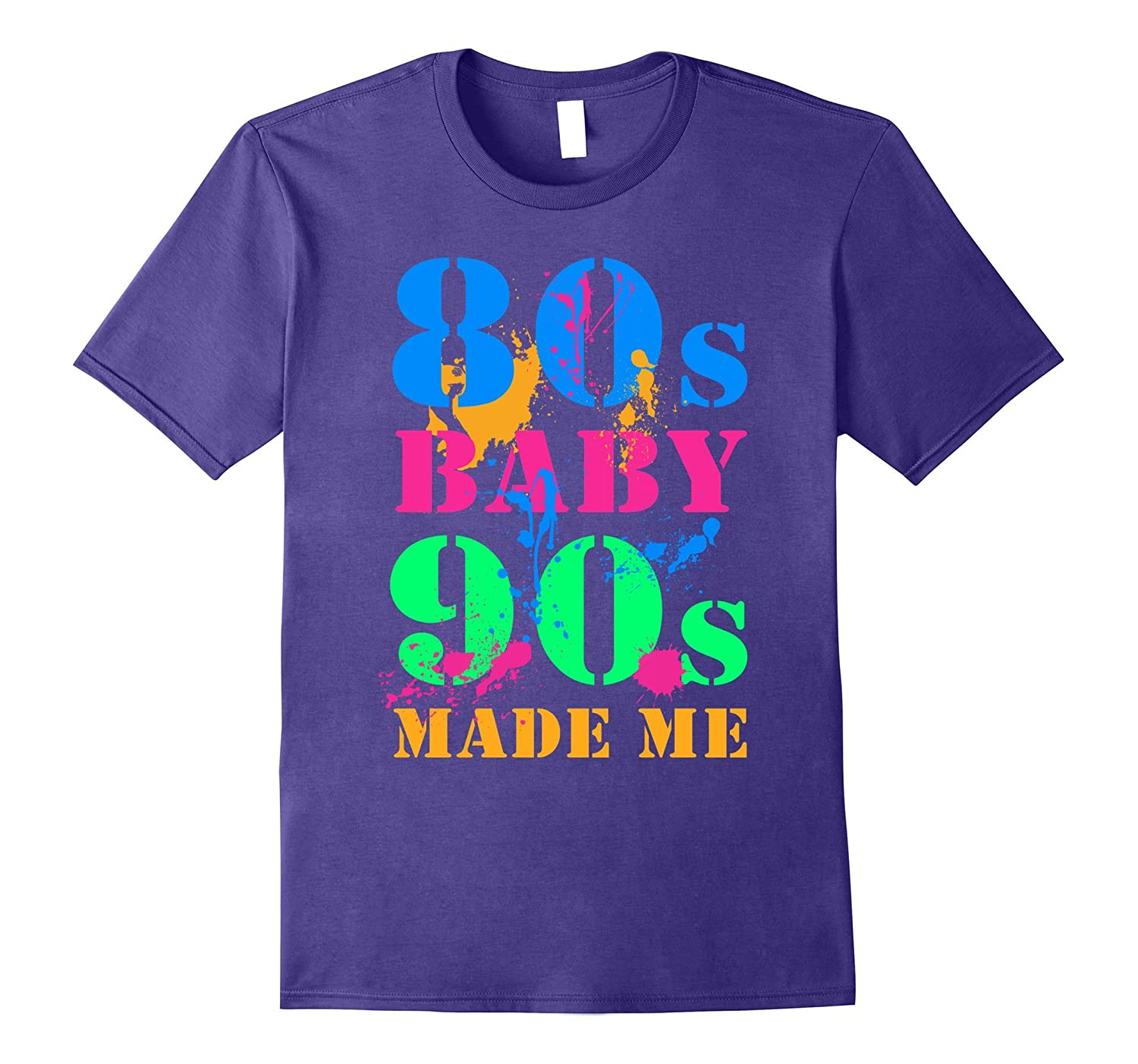 80S BABY 90S MADE ME VINTAGE RETRO T-SHIRT-PL
