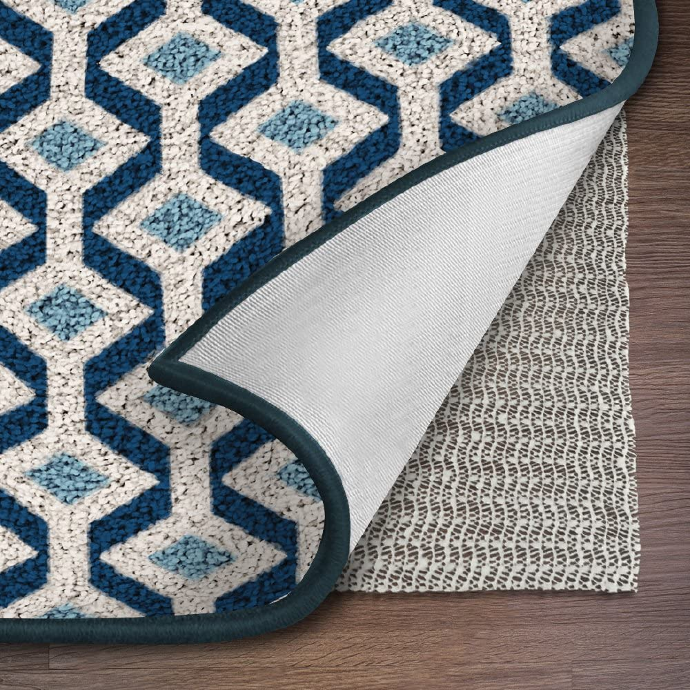Ninja Brand Gripper Rug Pad, Size 6 Feet x 9 Feet, for Hardwood Floors and Hard Surfaces, Top Gripper Adds Cushion and Maximum Protection, Works with ...