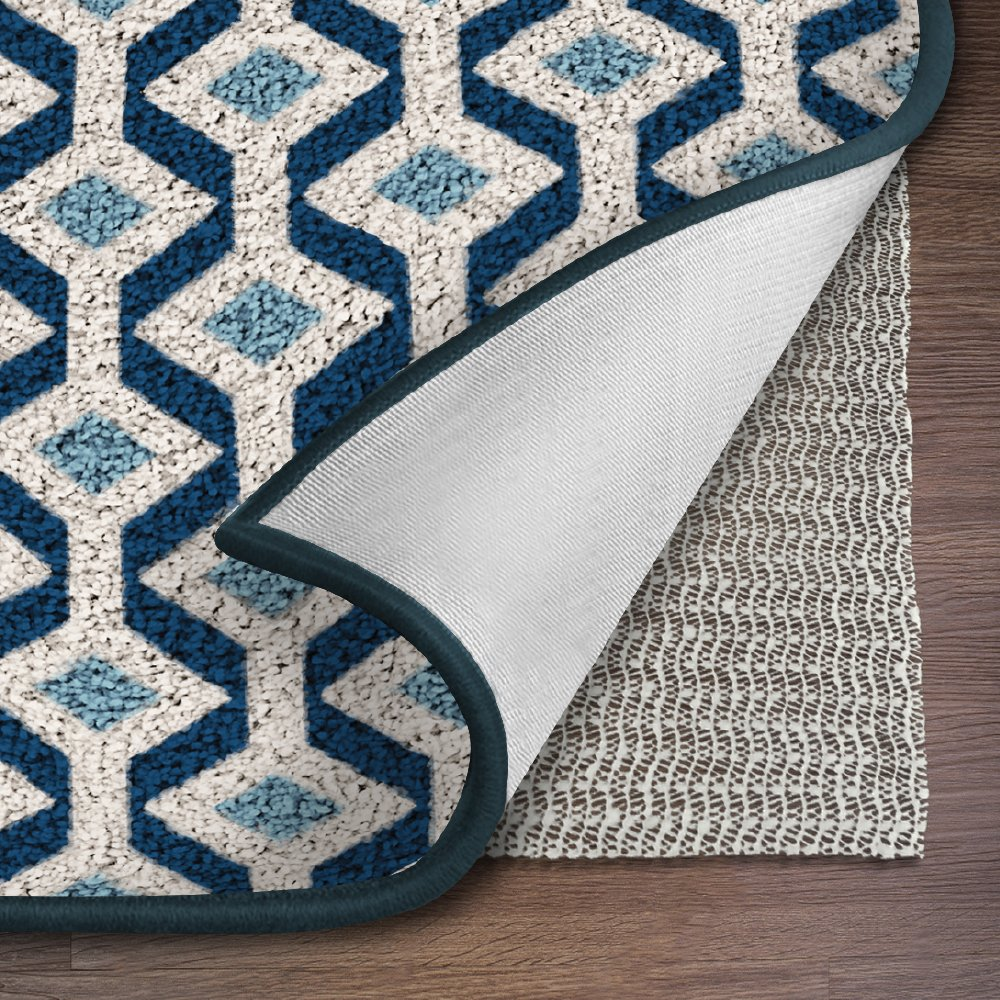 Ninja Brand Gripper Rug Pad, Size 9 Feet x 12 Feet, for Hardwood Floors and Hard Surfaces, Top Gripper Adds Cushion and Maximum Protection, Works with ...
