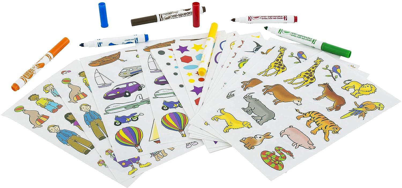 Crayola 5450 Kit Para Colorear Con Pegatinas