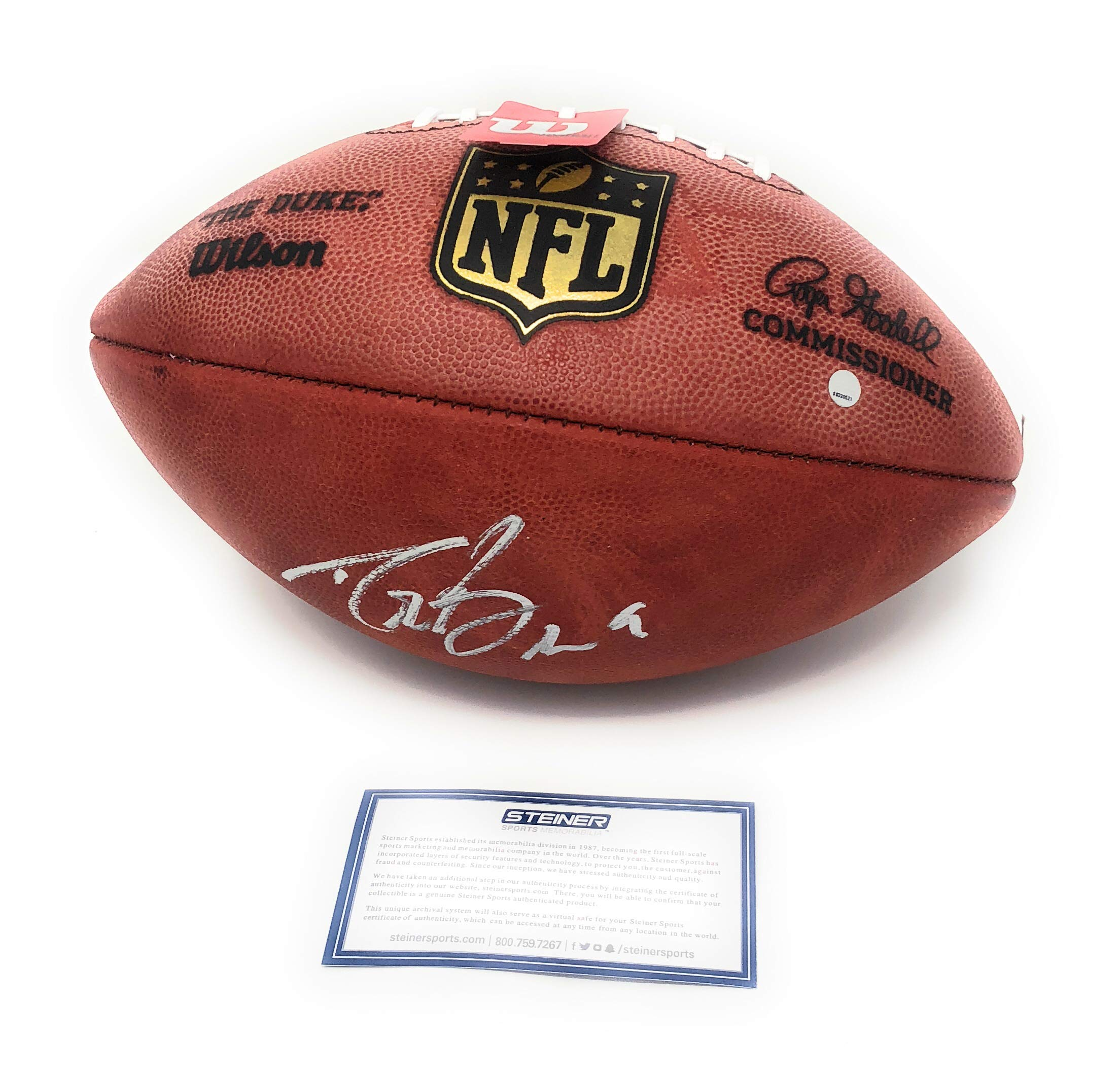 Drew Brees New Orleans Saints Signed Autograph Authentic NFL Duke Football Steiner Sports Certified