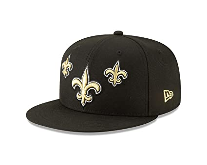 outlet store f9a22 63f46 New Era New Orleans Saints 2019 NFL Draft Official On-Stage 59FIFTY Fitted  Hat -