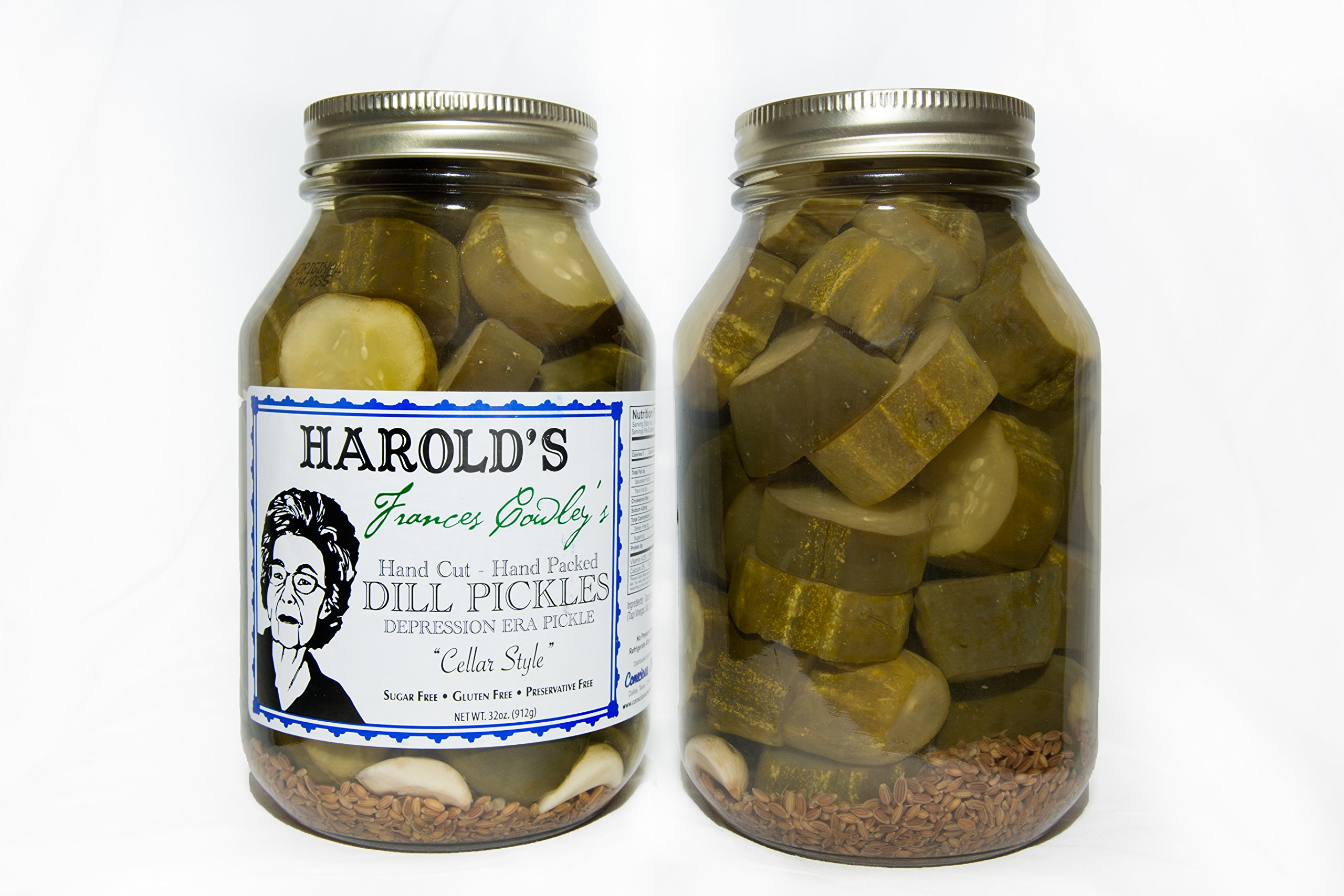 3-Pack Dill (1 each Frances, Harold 2X, Harold 4X) 3- 32oz quarts