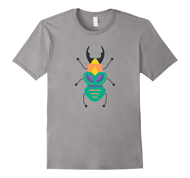 Cute & Unique Vintage Bug & Insect Art T-Shirt & Gift-Art