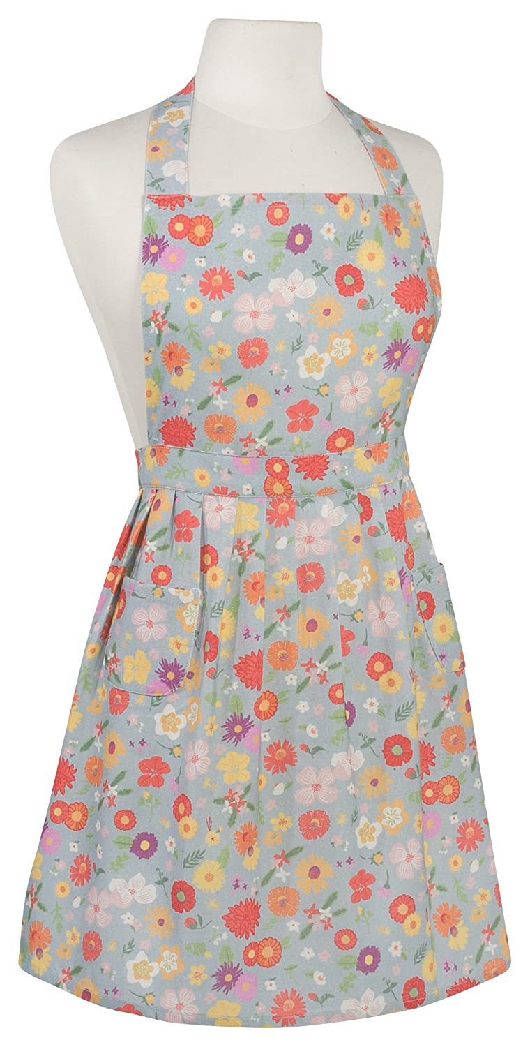 Now Designs 2405004 Classic Apron Flowers of The Month