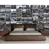 Creative Collage New York Big Apple Designer Wall Mural - 64 Piece