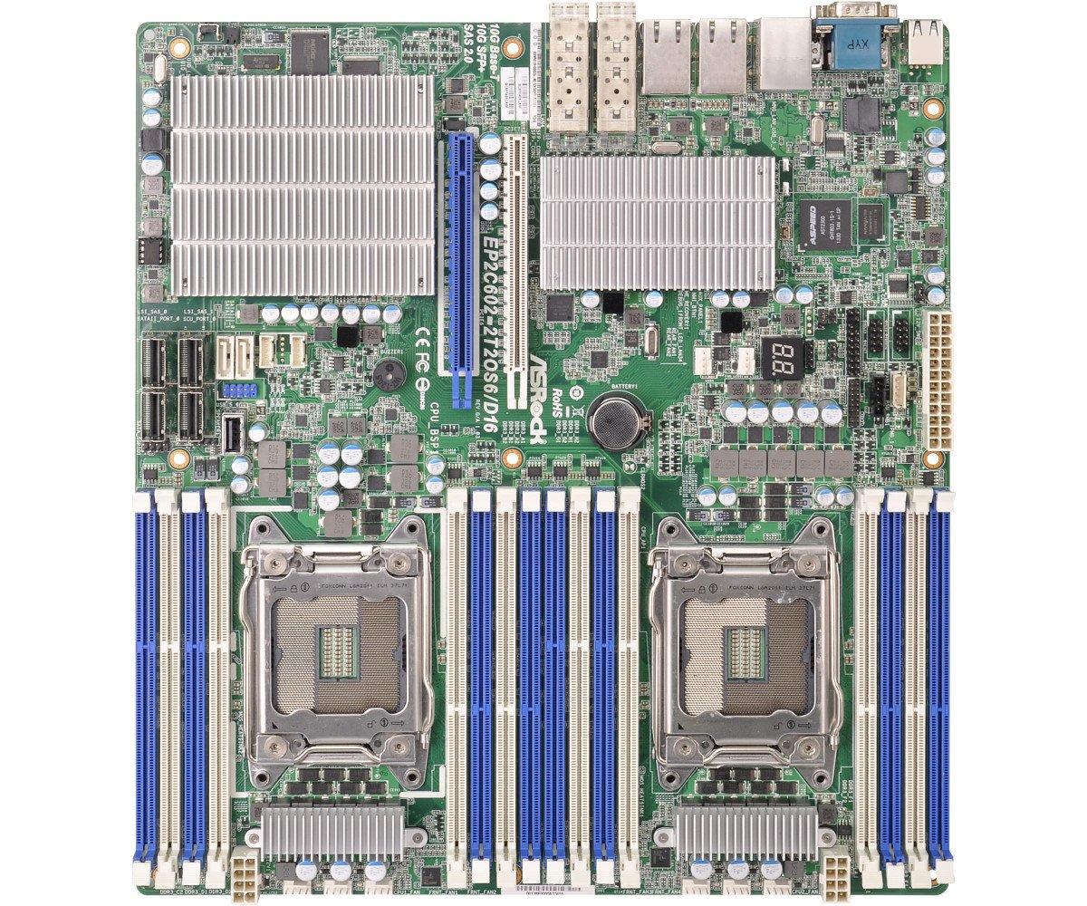 ASRock Motherboard 1066 Intel LGA 2011 EP2C602-2T2OS6/D16