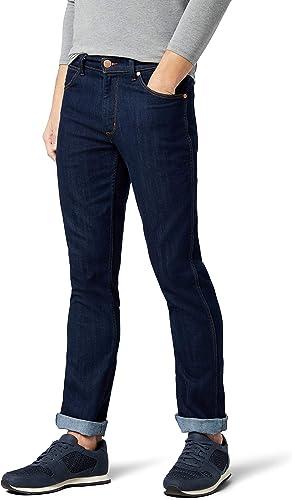 TALLA 30W / 34L. Wrangler Greensboro Regular Jeans Hombre