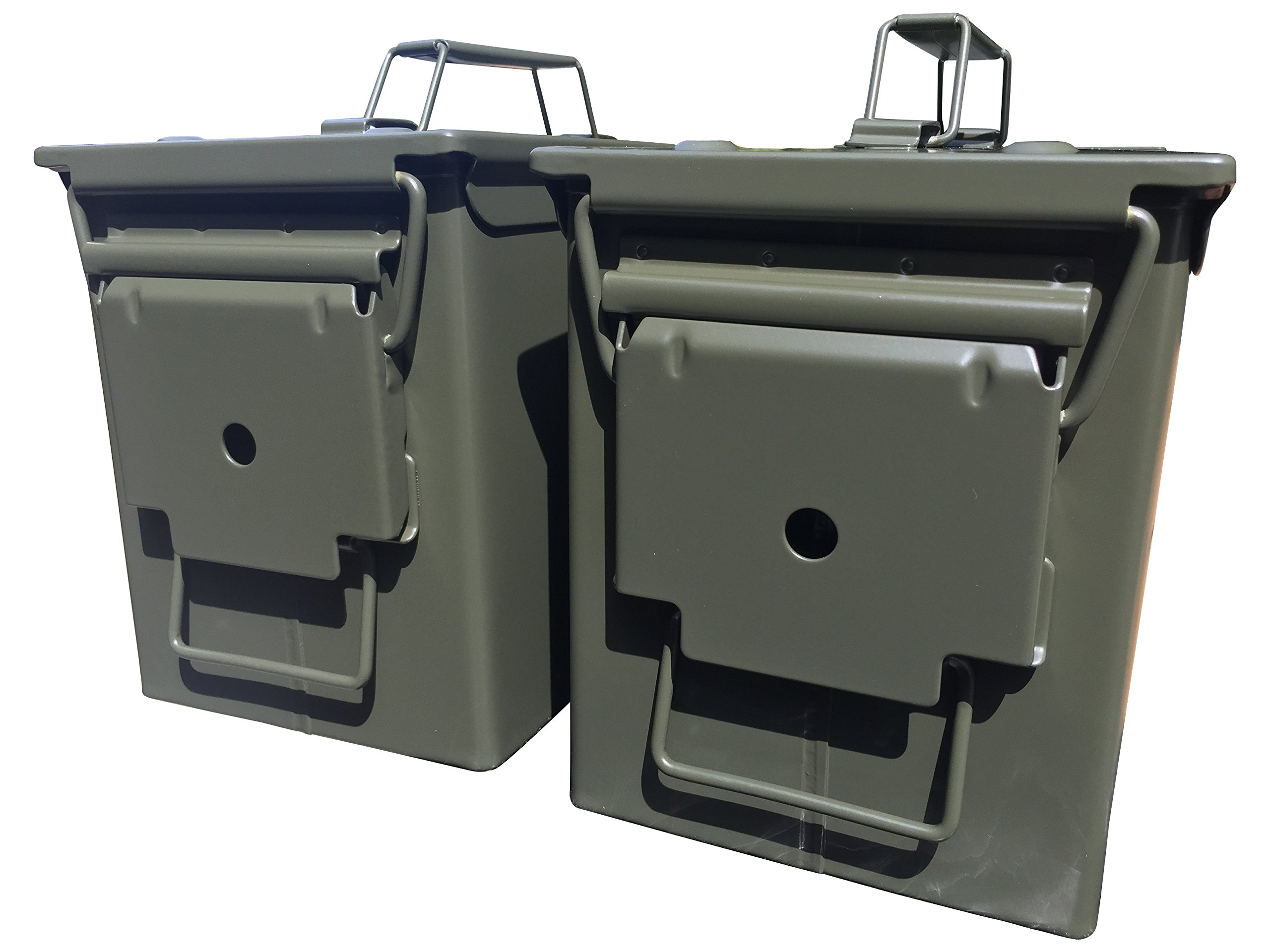 Two-Pack Mil Spec 50 Cal M2A1 Ammo Cans NEW